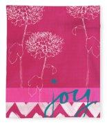 Joy Fleece Blanket