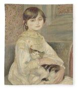 Julie Manet Fleece Blanket
