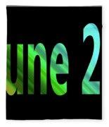 June 25 Fleece Blanket