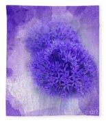 Just A Lilac Dream -4- Fleece Blanket