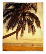 Kamaole Beach Fleece Blanket