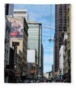 Karney Street San Francisco  Fleece Blanket