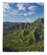 Kauai Aerial Fleece Blanket