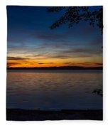 Kejimkujik Sunset Fleece Blanket