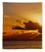 Key West Sunrise 21 Fleece Blanket