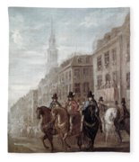 King Charles II Of England Fleece Blanket