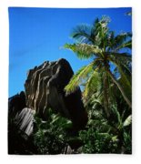 La Digue Island - Seychelles Fleece Blanket