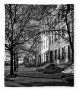La Fayette Park - Washington D C Fleece Blanket