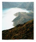 Lagoa Do Fogo Fleece Blanket
