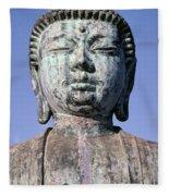 Lahaina, Buddha At Jodo  Fleece Blanket