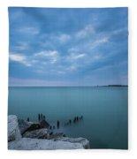 Lake Michigan Fleece Blanket