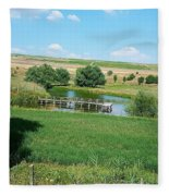 Lake  Fleece Blanket