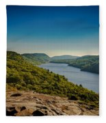 Lake Of The Clouds Fleece Blanket