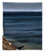 Lake Ontario At Sodus Bay Fleece Blanket