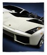 Lamborghini Super Cars Fleece Blanket
