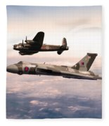 Lancaster And Vulcan Fleece Blanket