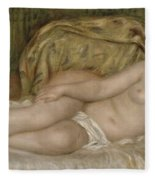 Large Nude Fleece Blanket