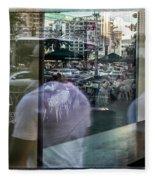 Las Vegas Strip 0312 Fleece Blanket