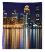 Lavender Louisville Fleece Blanket
