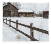 Lawr Farm Fleece Blanket