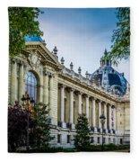 Le Petit Palais Fleece Blanket