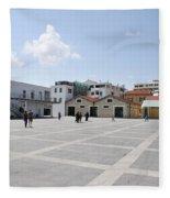 Limassol Marina  Fleece Blanket
