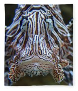 Lion Fish  Fleece Blanket