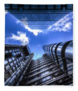 Lloyd's Of London And Cheese Grater Fleece Blanket