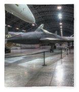 Lockheed, Yf-12a Fleece Blanket