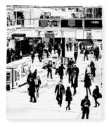 London Commuter Art Fleece Blanket