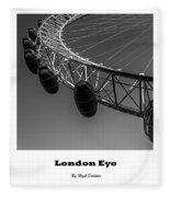 London Eye. Fleece Blanket