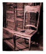 Loomis Ranch Chair Fleece Blanket