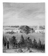 Louis Hennepin (1640-1701) Fleece Blanket