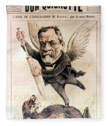 Louis Pasteur (1822-1895) Fleece Blanket