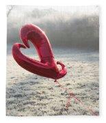 Love Heart Fleece Blanket