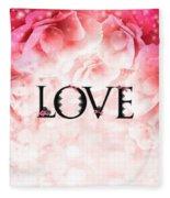 Love Heart Nd12 Fleece Blanket