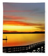 Lowcountry Autumn Fleece Blanket