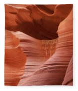 Lower Antelope Canyon 2 7934 Fleece Blanket