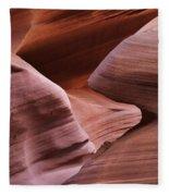 Lower Antelope Canyon 2 7978 Fleece Blanket