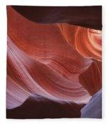 Lower Antelope Canyon 7729 Fleece Blanket