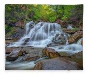 Lower Kaaterskill Falls Fleece Blanket