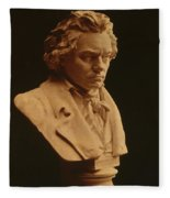 Ludwig Van Beethoven, German Composer Fleece Blanket