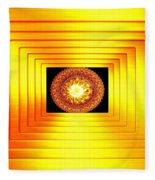 Luminous Energy 7 Fleece Blanket