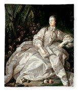 Madame De Pompadour Fleece Blanket