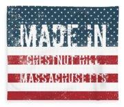 Made In Chestnut Hill, Massachusetts Fleece Blanket
