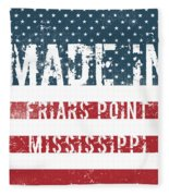 Made In Friars Point, Mississippi Fleece Blanket