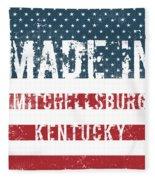 Made In Mitchellsburg, Kentucky Fleece Blanket