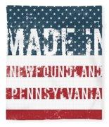Made In Newfoundland, Pennsylvania Fleece Blanket