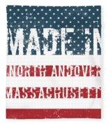 Made In North Andover, Massachusetts Fleece Blanket