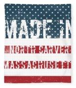 Made In North Carver, Massachusetts Fleece Blanket